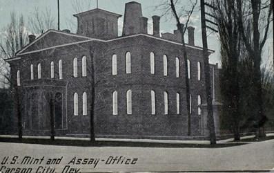 U.S. Mint and Assay Office, Carson City, Nev.