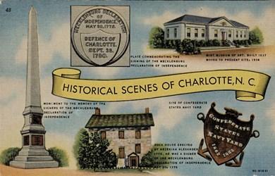 Historical Scenes of Charlotte N.C.