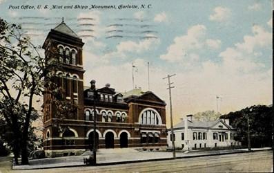 Post Office, U.S. Mint and Shipp Monument, Charlotte, N.C.