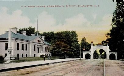 U.S. Assay Office, formerly U.S. Mint, Charlotte, N.C.
