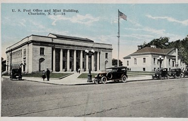U.S. Post Office and Mint Building, Charlotte, N.C.