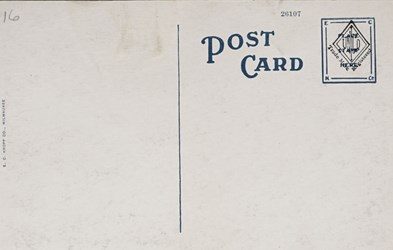 Reverse side: U.S. Post Office and Mint Building, Charlotte, N.C.