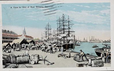 A View in 1852 of New Orleans, La.