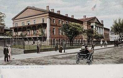New Orleans, La. The U.S. Mint