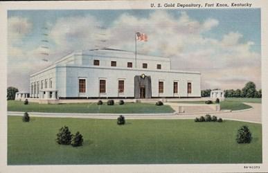 U.S. Gold Depository, Fort Knox, Kentucky