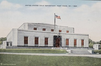 United States Gold Depository, Fort Knox, KY.
