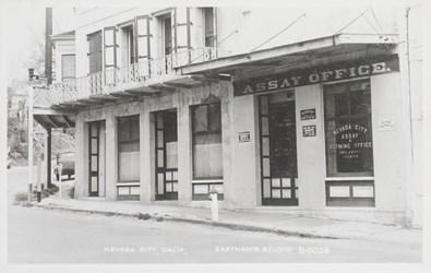 Nevada City Assay Office