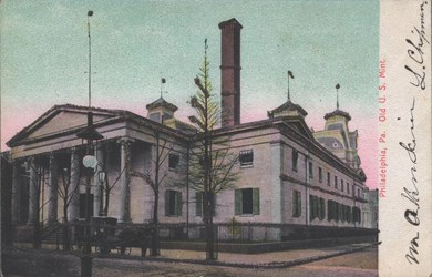 Second U.S. Mint Postcard
