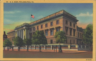 Third U.S. Mint Postcard