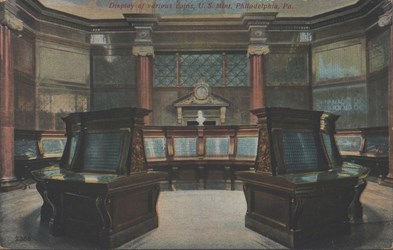 U.S. Mint Postcard (Interior View)