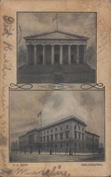 U.S. Mint Postcard (Composite)