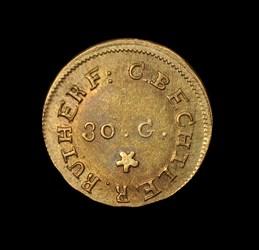 (No Date) C. BECHTLER $1