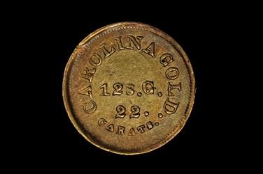 (1842) A. BECHTLER $5