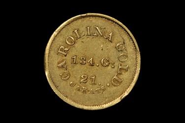 (1842) C. BECHTLER $5