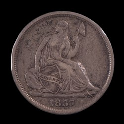1837, V-6b, Small Date