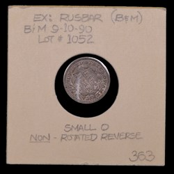 1844-O, V-2, Non-rotated Reverse