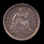 1850-O, V-1, Rusted Die