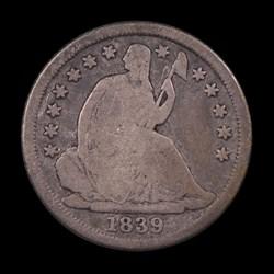1839-O, V-9, Small-O