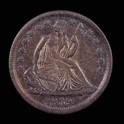 1839-O, V-4, Small-O