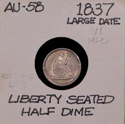1837, V-1, Large Date