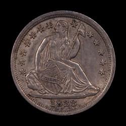1838, V-10, Crumbled Die