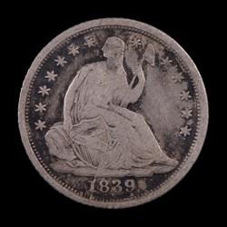 1839-O, V-13, Shattered Obverse