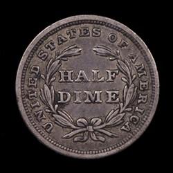 1840, V-6, Shattered Obverse