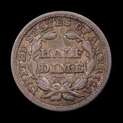 1848, V-1, Large Date
