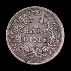 1839-O, V-4, Obverse Cud