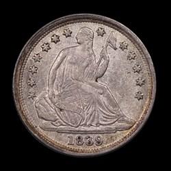 1839-O, V-8, Small-O