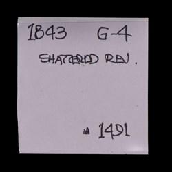 1843, Shattered Reverse