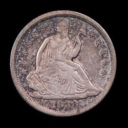 1838, V-6, Partial Drapery