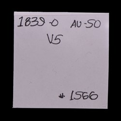 1839-O, V-5, Shattered Obverse