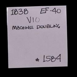 1838, V-10, Die Crumbling