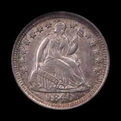 1840-O, V-7, Shattered Obverse