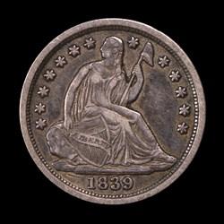 1839-O, V-1, Large O