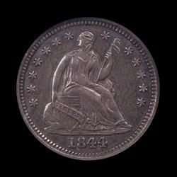1844-O, V-2, Small O Rotated Reverse