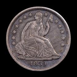 1839-O, V-5, Small-O