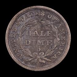 1839-O, V-9, Reverse Cud