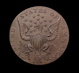 1792 Small Eagle Getz pattern (copper)