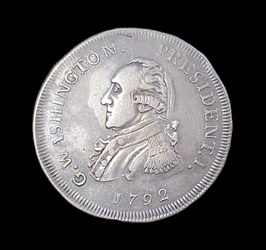 1792 Small Eagle Getz pattern (silver)