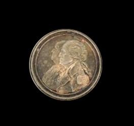 1783 Washington / Franklin Silver Medal by John Reich