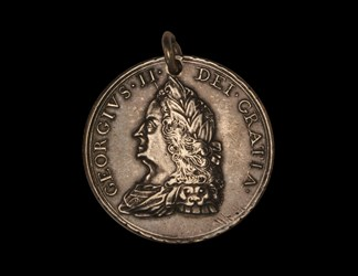 George II Indian Peace Medal - Original