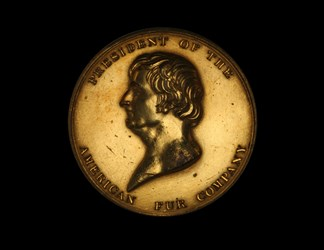John Jacob Astor Fur Trade Medal