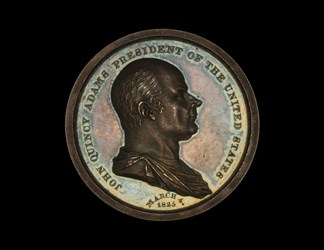 John Quicy Adams Innaugural Medal