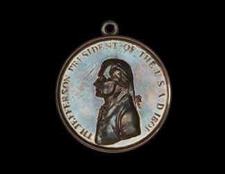 Thomas Jefferson Large Size Indian Peace Medal
