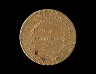 John Adams - Pattern Presidential Campaign or Inaugural Medal