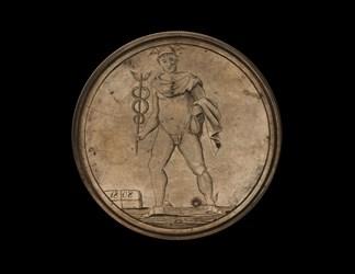 New York, Adelhaide Engraved Medal