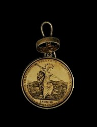 New York, Adelhaide Engraved Medal