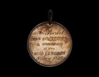 Centennial Celebration of South Carolina Society - Barbot